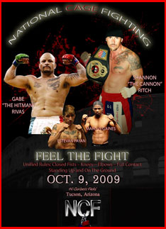 Feel the Fight - October 9, 2009